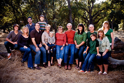"ChadwickFmly-4754  In this first pose, the subjects create an interesting ""shape"" with peaks, valleys, arcs, and layers - it's not just a cluster of people. It allows the eye to follow a path from left to right, covering each of the individuals."